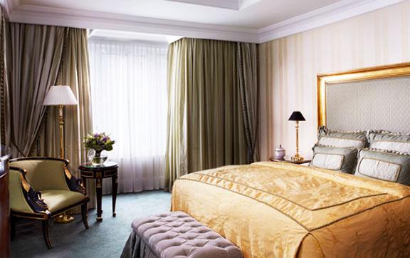 Ritz-Carlton Berlin Suite - master bedroom