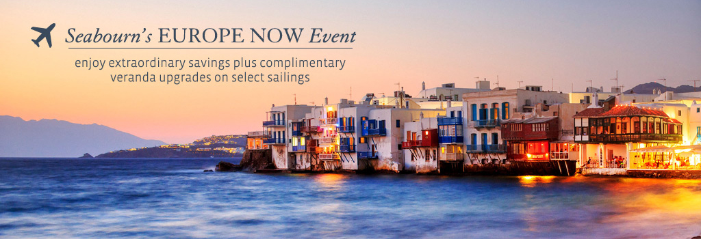 Seabourn's Europe Now Event