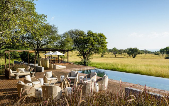 Views from the Serengti House, Singita Lodges, South Africa.