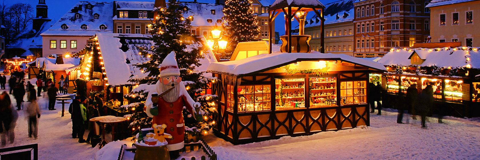 Christmas Markets of Europe - Two Winter Wonderlands