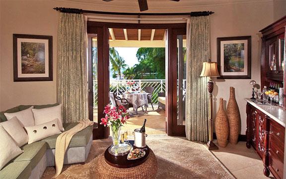 Millionaire Honeymoon Oceanview Penthouse One Bedroom Butler Suite