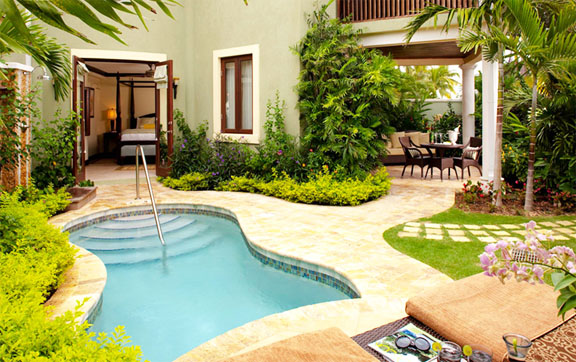 Millionaire Honeymoon One Bedroom Butler Suite with Private Pool Sanctuary