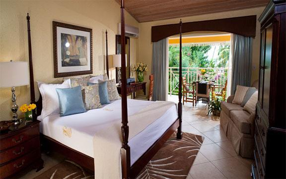 Caribbean Club Level Veranda Suite