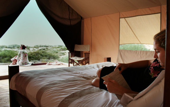 Interior of the Accommodation at Sal Sali, Ningaloo in Western Australia