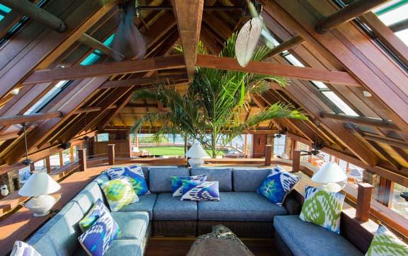 Necker island great house