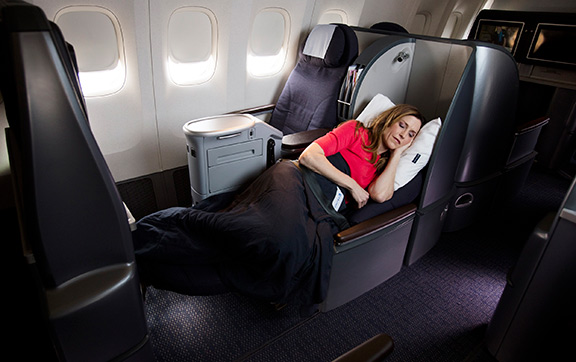 United Airlines Firstclass