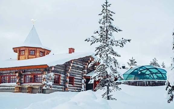 kakslauttanen-arctic-resort-aurora- restaurant