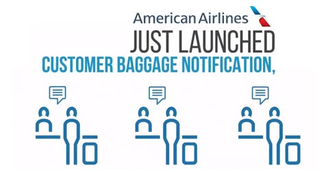 American Airlines Unveils Customer Baggage Notification