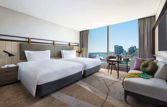 Sofitel Sydney Darling Harbour Superior Room Double Bed