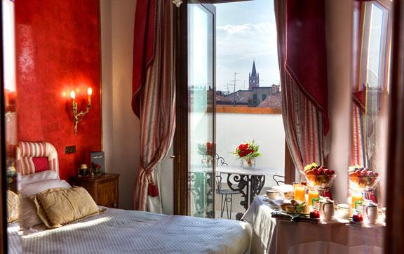 Due Torri Hotel Room