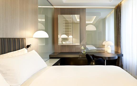 Excelsior Hotel Gallia Design Suite Bedroom