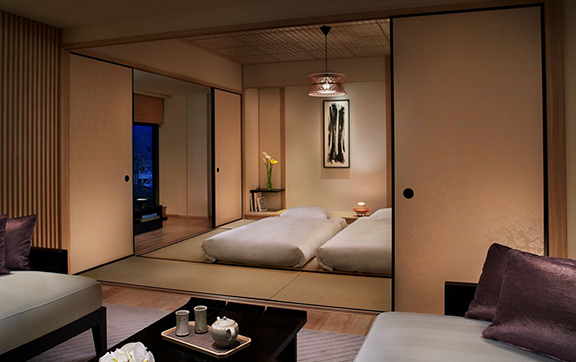 Corner Suite TATAMI_Bedroom