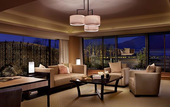 Suite TSUKIMI_Livingroom