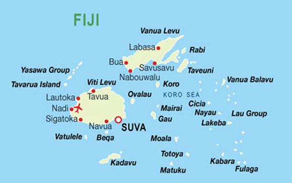 タバルア島の地図