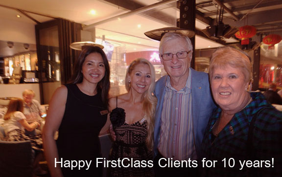 10 Year First Class Clients