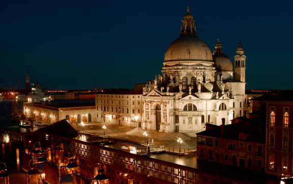 Hotel-Gritti-Palace-Venice-Italy-The-Redentore-Suit-Terrace-Night-View