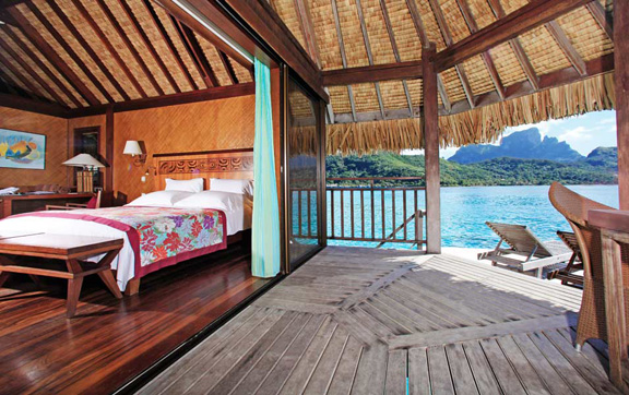 the sofitel bora bora private island resort, , Photo of the Island Luxury Over-Water Bungalow, Sofitel Bora Bora Private Island Resort