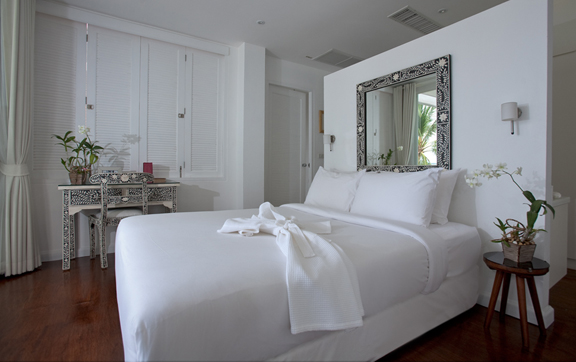 One of 5 bedrooms at Villa M, Koh Samui