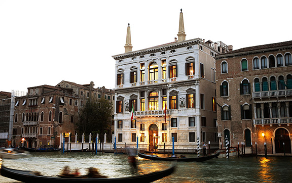 The Canal Side Exterior of Aman Venice