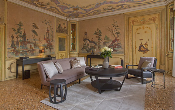 The Tiepolo Suite at the Aman in Venice