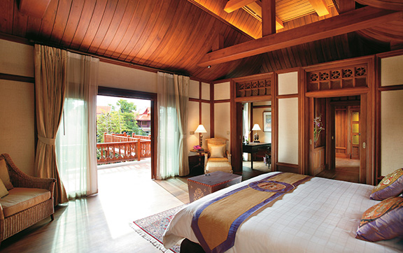 Grand Deluxe Villa with a Jacuzzi at Dara Devi Chang Mai