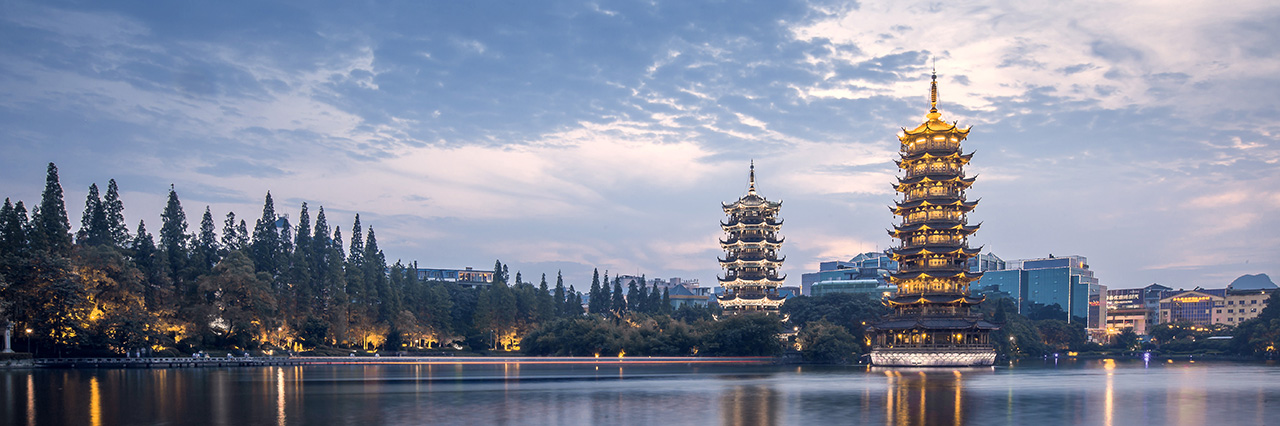 Walking and Cycling in Guilin