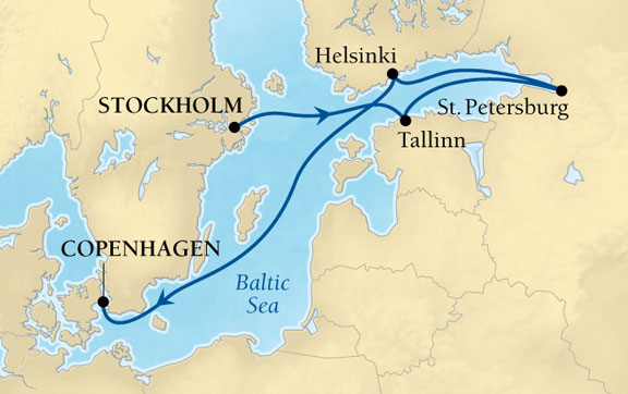 Seabourn 7-Day St Petersburg&TheBaltic