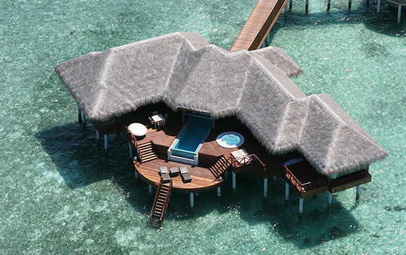 huvafen_fushi-Two Bedroom Ocean Pavilion with Pool