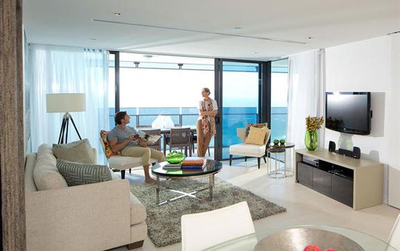 Luxury travel destination, Gold Coast Soul, living space