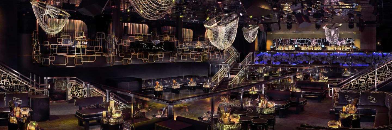 The Bank, a club inside The Bellagio, Las Vegas.