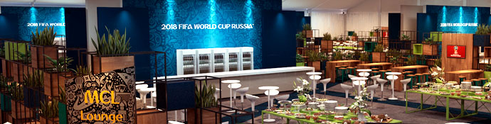 World Cup 2018 Russia Hospitality Suite