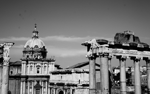 The Roman Forum. Image Credit: Anja Bless