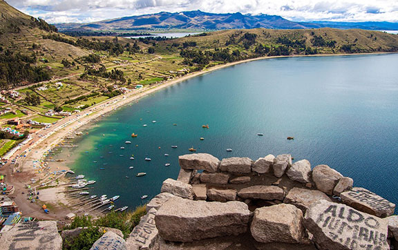 The Shores of Lake Titicaca