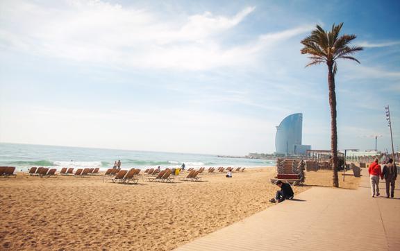 luxury travel barcelona, beaches in spain