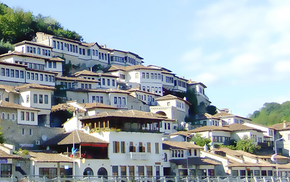Town of a Thousand Windows in Berat, Albania