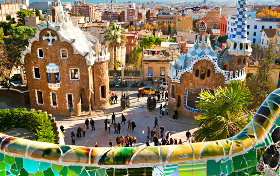 parc-guell-barcelona, barcelona travel