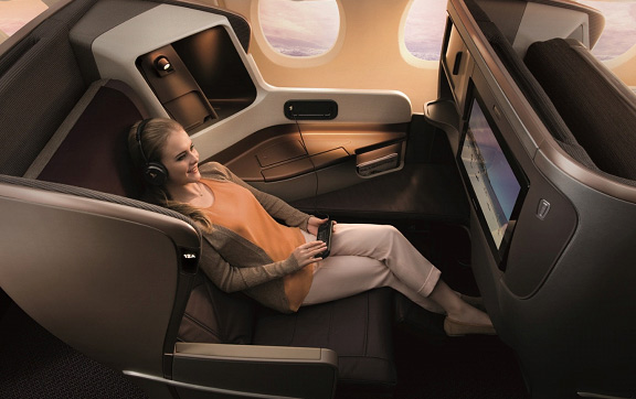 singapore airlines A350 seats