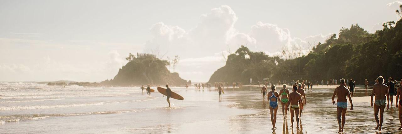 Byron Bay, Australia, luxury travel, beach