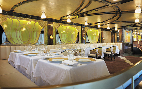The Chatreuse Restaurant onboard Regent
