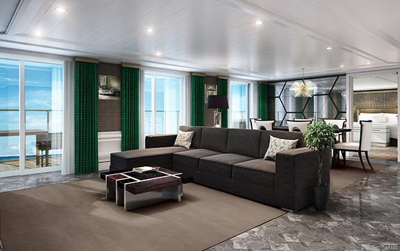 Grand Suite onboard Regent