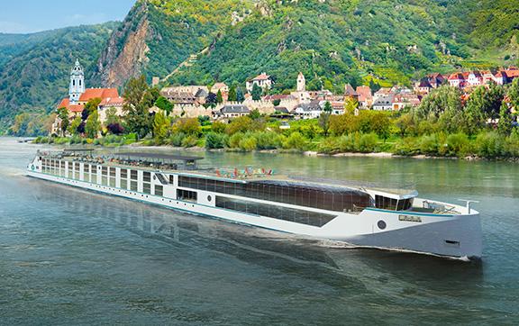 The Crystal Bach Cruising along the Rhine