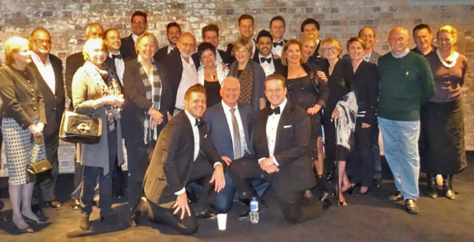 FirstClass.com.au Staff and Clients with The Ten Tenors in 2014