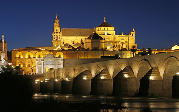 Roman Bridge and Mosque Cathedral of Cordoba