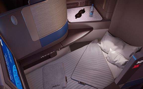 United Airlines Polaris Business Class
