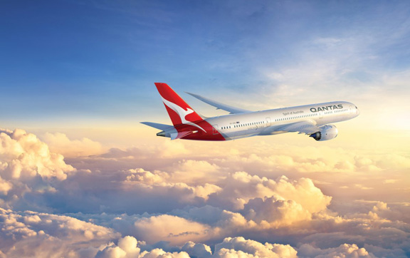 New Qantas Dream-liner Aircraft