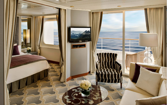 Image result for crystal symphony Seabreeze Penthouse with Verandah