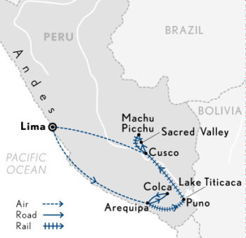 peru-in-depth-13-days-with-abercrombie-and-kent-map