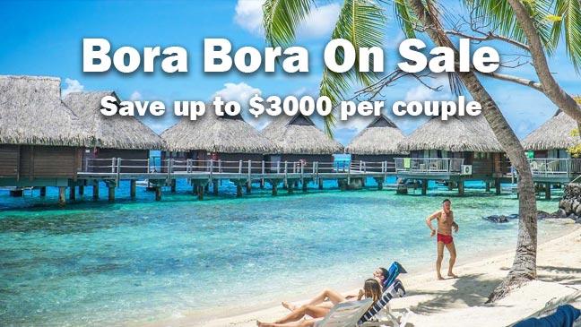 Save up to $3,000 per Couple - All Inclusive Bora Bora ...