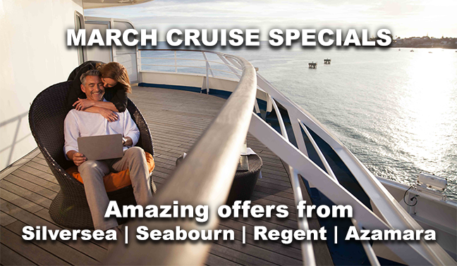 Deals on cruises march 2018