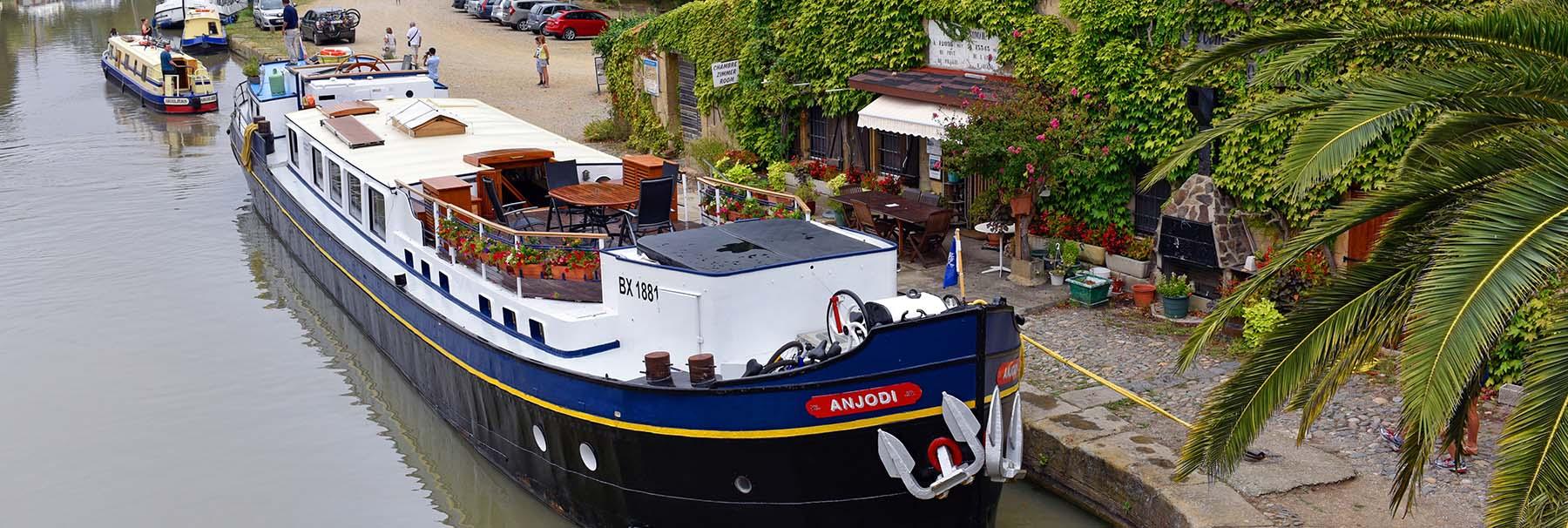 Canal du Midi Cruise on Abercrombie & Kent Anjodi